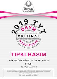 2019 TYT TIPKI BASIM