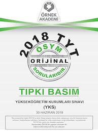 2018 TYT TIPKI BASIM
